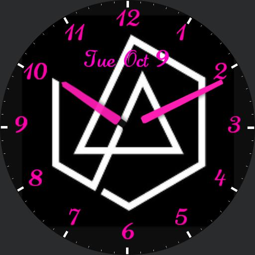 Pink Linkin Park For G Watch R