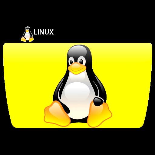 Linux Penguin, Folder, Icon Free Of Colorflow Icons