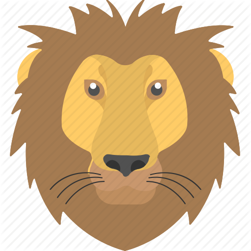 Animal, Fierce Lion, Furry Lion, Jungle King, Lion Mane Icon