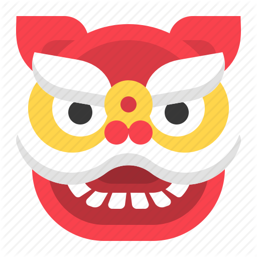 Chinese, Cny, Head, Lion Dance, Lion Head, New Year Icon