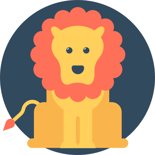 Lion Icon Circus Vectors Market