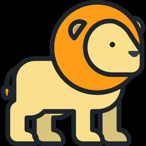 Animal Kingdom, Zoo, Animals, Mammal, Wild Life, Lion Icon