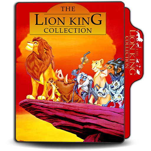 The Lion King Collection Folder Icon