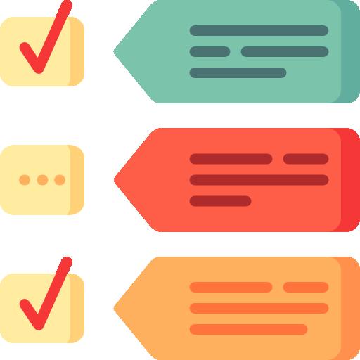 List Icon Infographics Elements Freepik