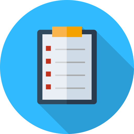 Check List, Check List, Checkup Icon With Png And Vector Format