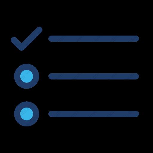 Download Tasks,survey,list Icon Inventicons