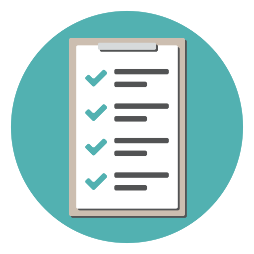 Clipboard, Order, Checklist, List Icon Free Of Flat Office Icons