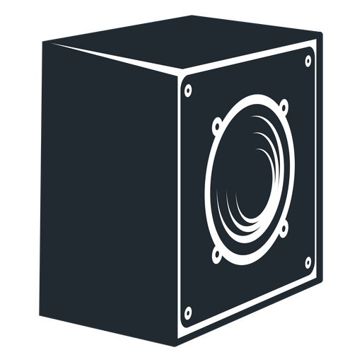 Loudspeaker Side View Icon