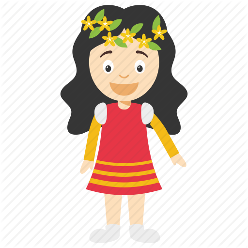 Cartoon Character, Cartoon Girl, Cute Little Girl, Girl