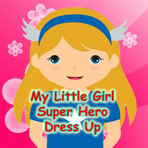 Little Girl Easy Dress Up For Super Hero Edition