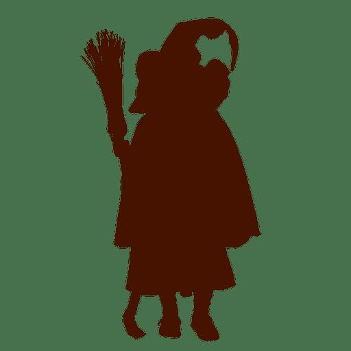 Little Girl Dancing Silhouette