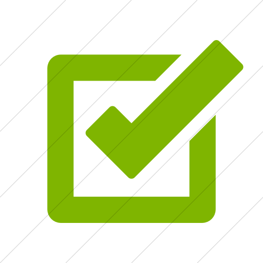 Simple Green Foundation Checkbox Icon