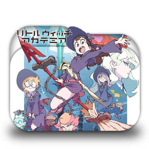 Little Witch Academia Folder Icon