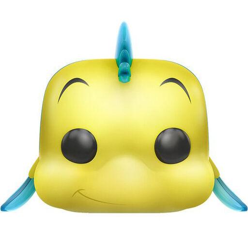 Funko Pop Little Mermaid Flounder Disney Soft Vinyl Bobblehead