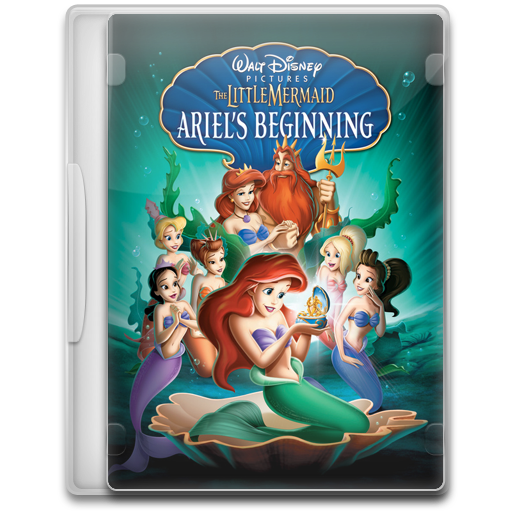 The Little Mermaid Ariels Beginning Icon Movie Mega Pack