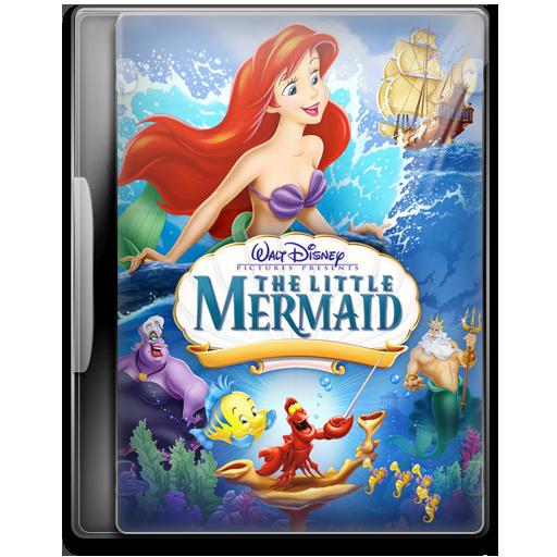 The Little Mermaid Icon Movie Mega Pack Iconset