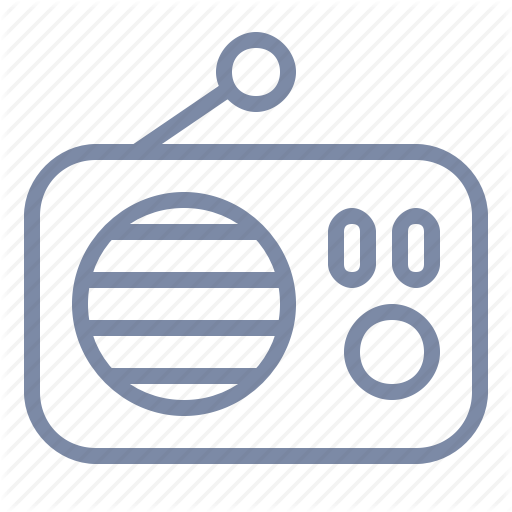 Broadcast, Fm, Live, Music, Radio, Station Icon