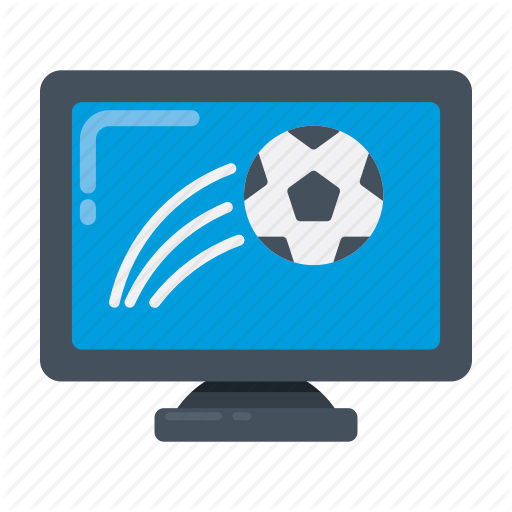 Broadcast, Football, Live, Match, Tv Icon