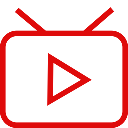 Live Tv, Broadcast, Broadcasting Icon With Png And Vector Format