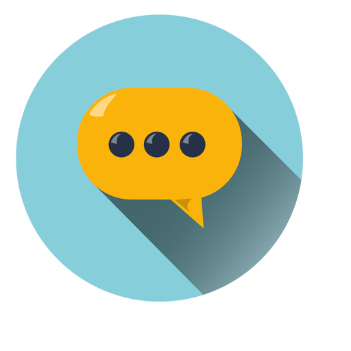 Download Free Png Chat Cloud Circle Icon Dlpng