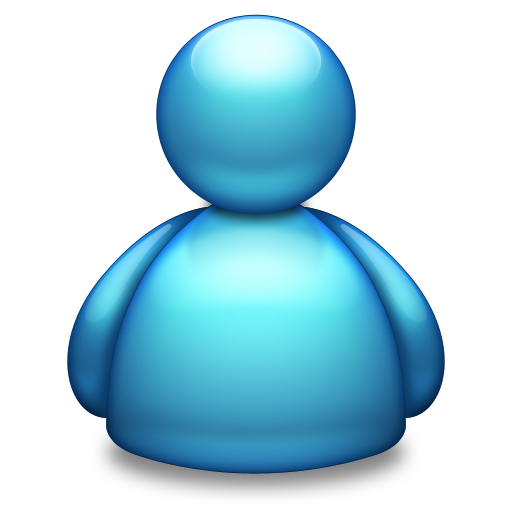Live Messenger Blue Icon Free Download As Png And Icon Easy