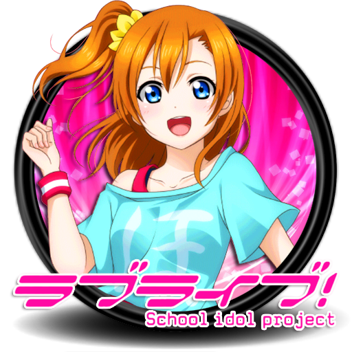 Love Live School Idol Project Circle Icon