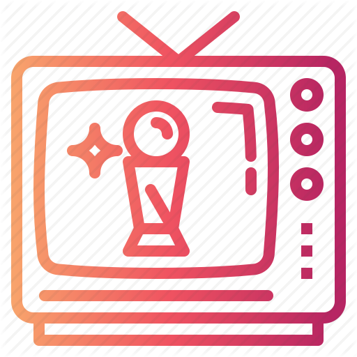 Air, Live, On, Television, Tv Icon