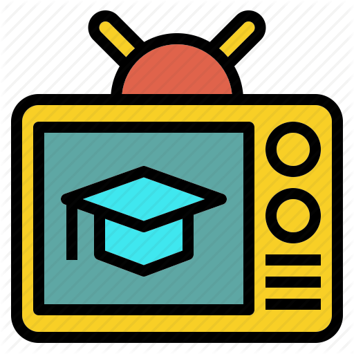 Broadcast, Channel, Education, Live, Study, Tv Icon