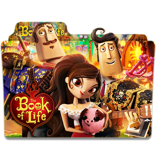 The Book Of Life Folder Icon