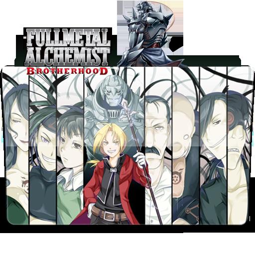 Full Metal Alchemist Brotherhood Folder Icon ^^