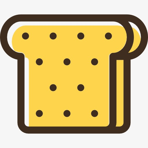 Two Slices Of Bread, Bread Clipart, Food, Bread Png Image