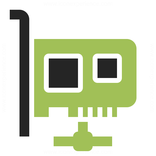 Pci Card Network Icon Iconexperience
