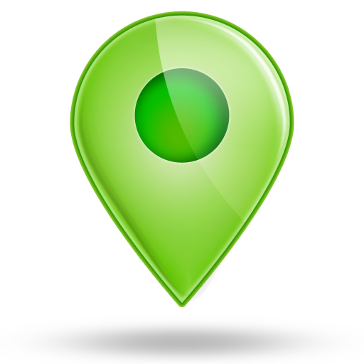 Green Location Icons