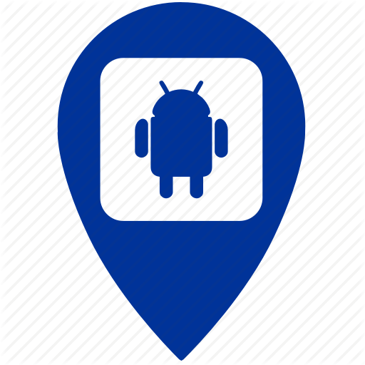 Android, Geo, Gps, Location, Place, Robot Icon
