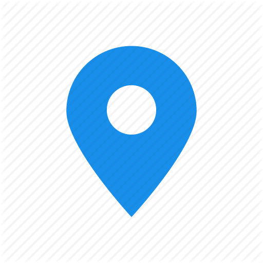 Address, Blue, Location, Map, Marker Icon