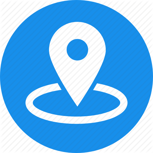 Blue, Gps, Location, Map, Marker, Navigation, Nearby Icon