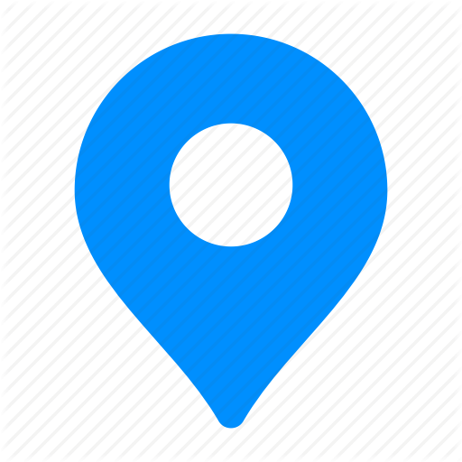 Blue, Gps, Location, Map, Pin, Place Icon