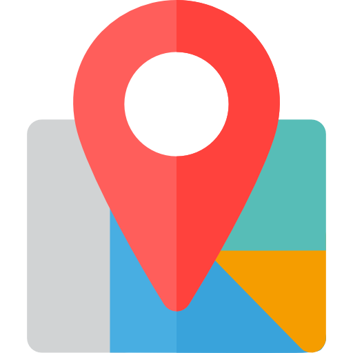 Map Location, Map Point, Street Map Icon