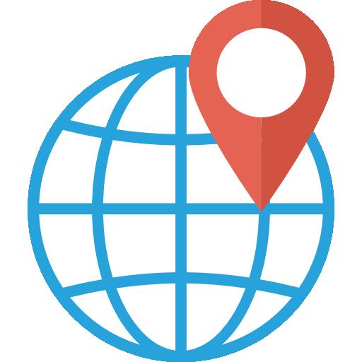 Location Icon Seo And Marketing Dinosoftlabs