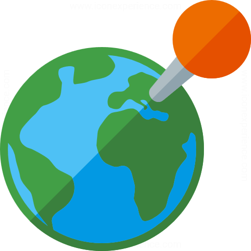 Iconexperience G Collection Earth Location Icon