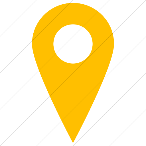 Simple Yellow Raphael Location Icon