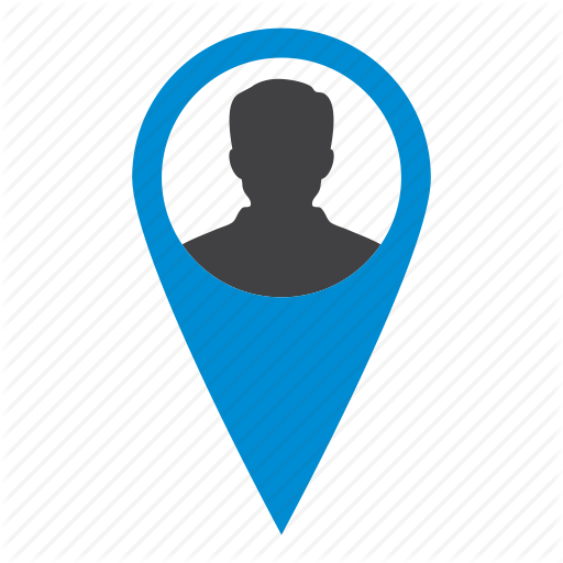 Location, Map, Marker, People, User Icon