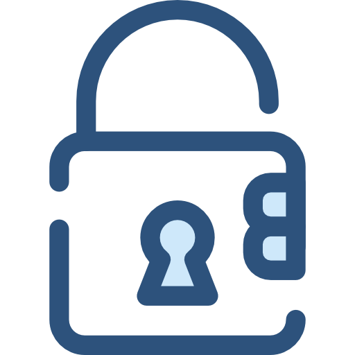Security, Padlock, Tools And Utensils Icon