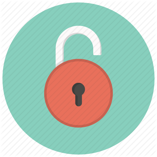 Security, Key, Lock, Safe, Access, Private, Unlocked Icon