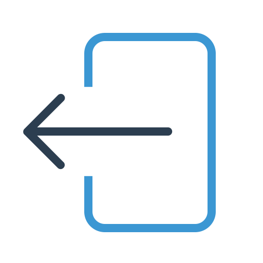 Exit, Arrow, Quit, Logout, Check, Sign Out, Log Off Icon