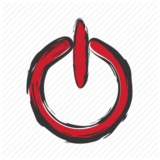 Log Out, Logout, Off, On, Sign Out Icon