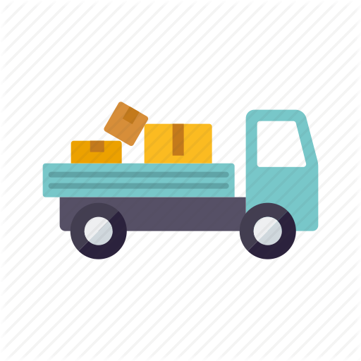Cargo, Logistics, Parcels, Pickup, Shipping, Transport, Truck Icon