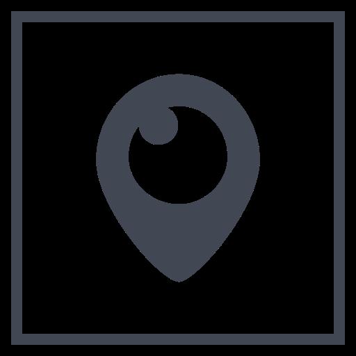 Periscope, Social, Media, Logo Icon Free Of Social Media Free