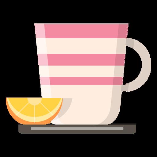 Tea Cup With Lemon Icon