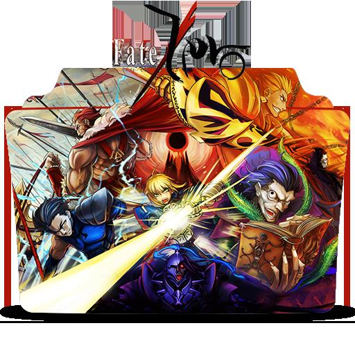 Fate Zero Icon Folder Fate Zerostay Night